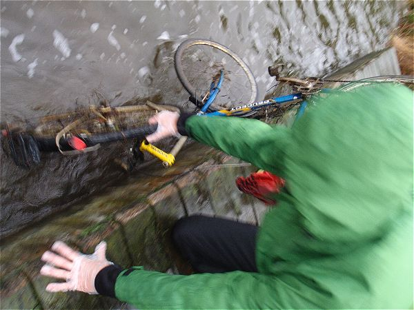 Two bikes caught during magnet fishing trip